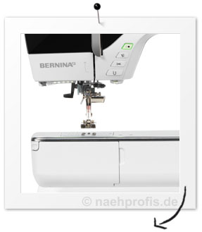 bernina n hmaschine b 780 mit stickmodul 1306 stiche. Black Bedroom Furniture Sets. Home Design Ideas